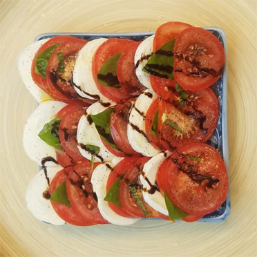 Independence Day Caprese Salad